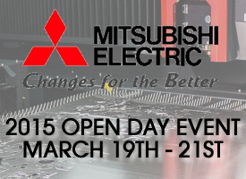 See Mitsubishi Laser at Applied Machinery's 2015 Open Days