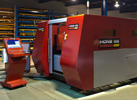 New Fiber laser is providing Jmar Engineering with multiple benefits.