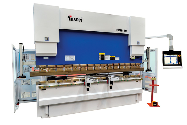 Yawei PBH Series CNC Pressbrakes - One of Australia's favourite options for precision CNC bending.