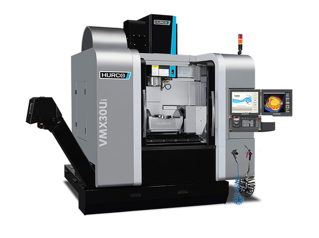 Precision 5-Axis CNC Machining from the Hurco VMX Series