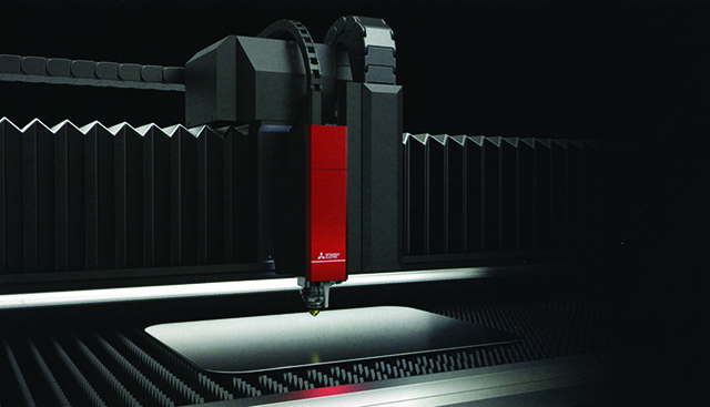 Mitsubishi ML-ZH Fibre Laser Zoom Head. Take your productivity to the next level
