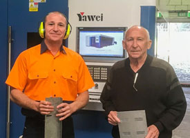 Business Expansion Made Possible by Yawei Fiber Laser