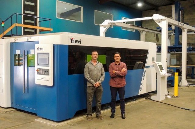 Alliance Metal Solutions with Yawei HLF1530