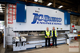 Yawei Pressbrakes provide growth opportunities for JC Butko Engineering